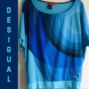 New Desigual shirt blouse L